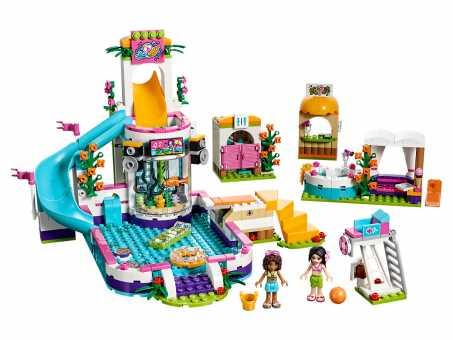 Конструктор LEGO Friends 41313 Летний бассейн Хартлейка