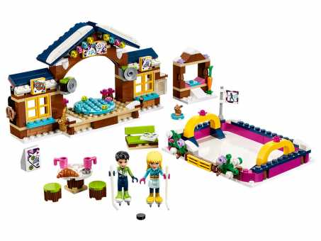 Конструктор LEGO Friends 41322 Каток на горнолыжном курорте