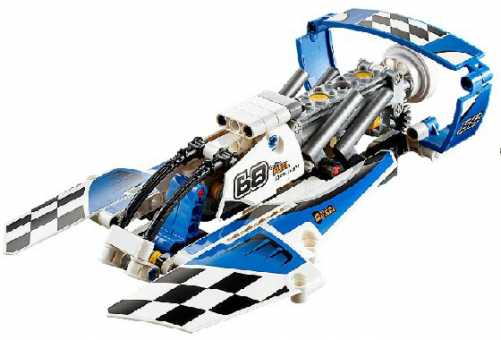 Конструктор LEGO Technic 42045 Гоночный гидроплан