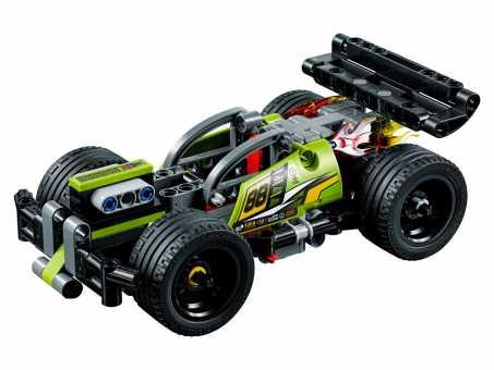 Конструктор LEGO Technic 42072 Зеленый гоночный автомобиль