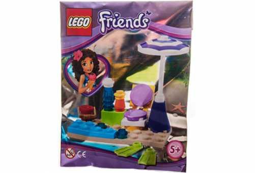 Конструктор LEGO Friends 561408 Сценка на пляже