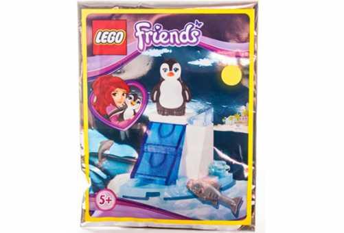 Конструктор LEGO Friends 561501 Ледяная горка пингвина