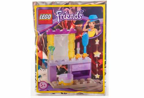 Конструктор LEGO Friends 561502 Туалетный столик