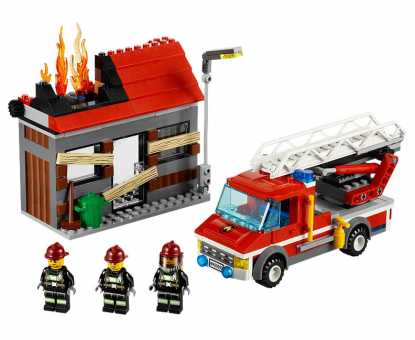 Конструктор LEGO City 60003 Тушение пожара