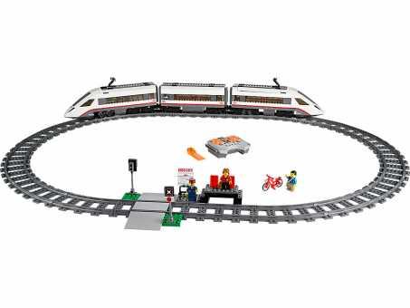 Электромеханический конструктор LEGO City 60051 Скоростной пассажирский поезд