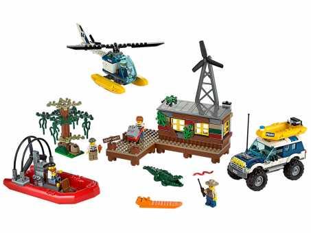 60068 - LEGO CITY Секретное убежище воришек