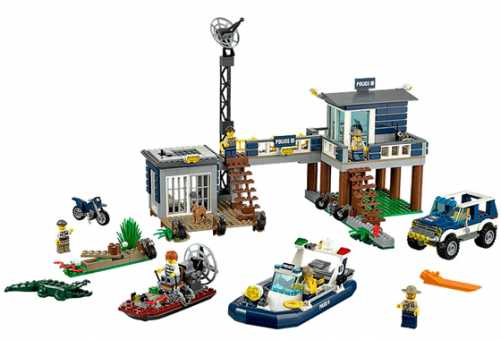 Конструктор LEGO City 60069 Полицейский участок на болоте