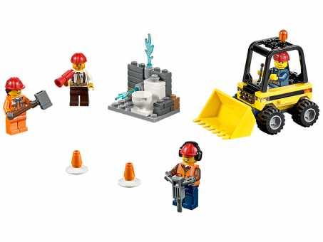 Конструктор LEGO City 60072 Демонтаж для начинающих