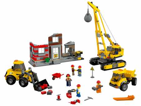 Конструктор LEGO City 60076 Снос здания