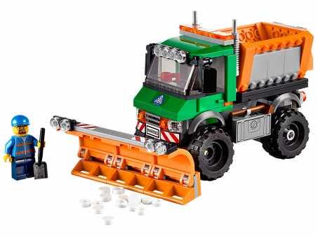 Конструктор LEGO City 60083 Снегоуборочный грузовик