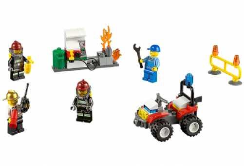 Конструктор LEGO City 60088 Пожарная охрана для начинающих