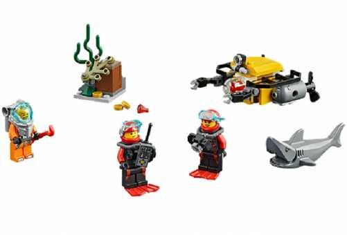 Конструктор LEGO City 60091 Глубоководные исследования для начинающих