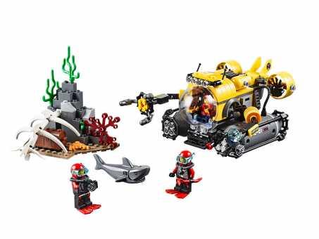 Конструктор LEGO City 60092 Подводная лодка