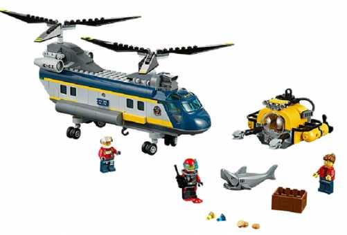 Конструктор LEGO City 60093 Исследовательский вертолет