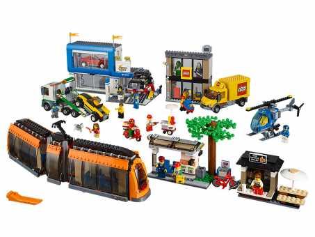 Конструктор LEGO City 60097 Городская площадь