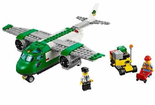 Конструктор LEGO City 60101 Грузовой самолет в аэропорту