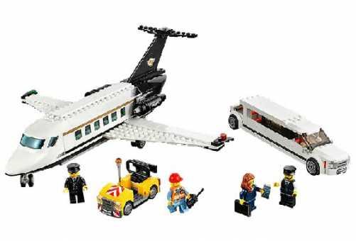 Конструктор LEGO City 60102 Обслуживание особо важных персон в аэропорту