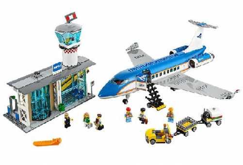 Конструктор LEGO City 60104 Пассажирский терминал аэропорта