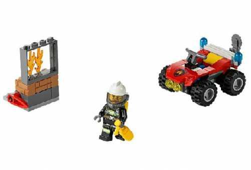 Конструктор LEGO City 60105 Пожарный внедорожник