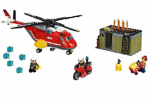 Конструктор LEGO City 60108 Пожарная команда быстрого реагирования
