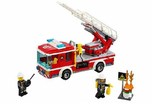Конструктор LEGO City 60107 Пожарная машина с лестницей
