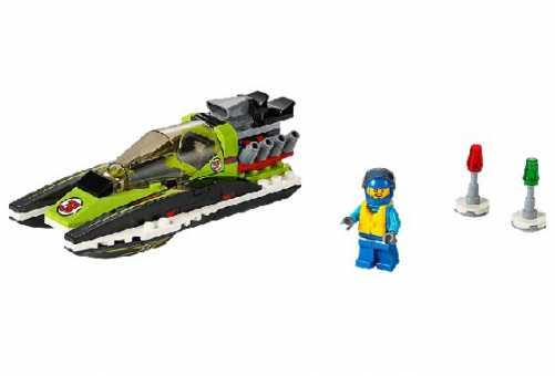 Конструктор LEGO City 60114 Гоночный катер