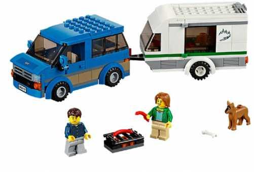 Конструктор LEGO City 60117 Фургон для путешествий
