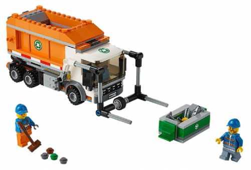 Конструктор LEGO City 60118 Мусоровоз