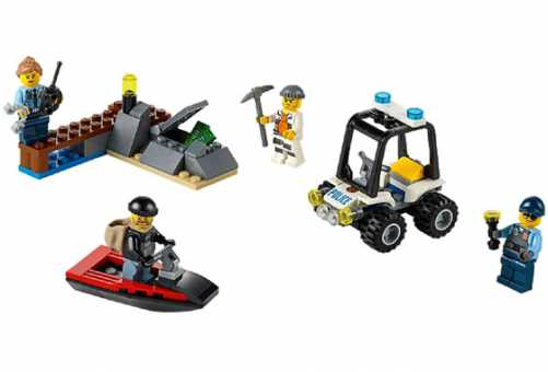 Конструктор LEGO City 60127 Тюремный остров для начинающих