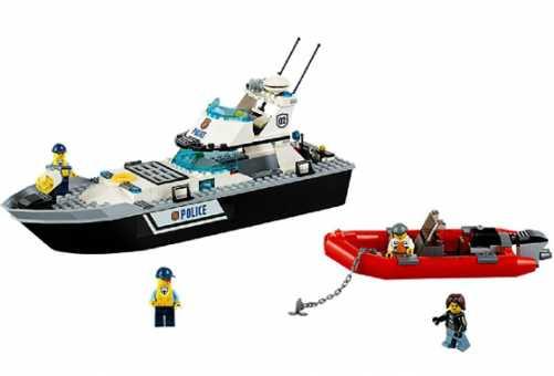 60129 - LEGO CITY Полицейский патрульный катер