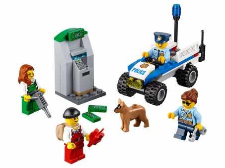 Конструктор LEGO City 60136 Полиция для начинающих