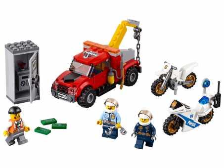 Конструктор LEGO City 60137 Побег на буксировщике