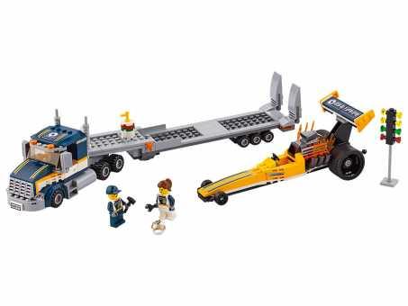 Конструктор LEGO City 60151 Грузовик для перевозки драгстера