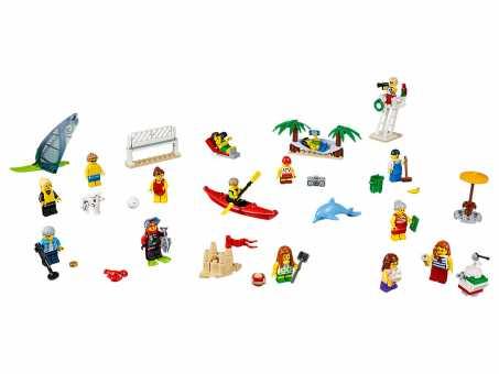 Конструктор LEGO City 60153 Отдых на пляже