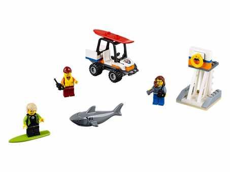Конструктор LEGO City 60163 Набор для начинающих береговых охранников