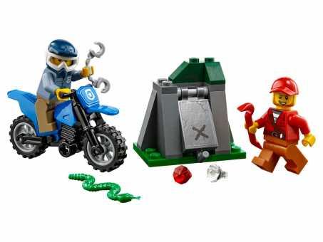 Конструктор LEGO City 60170 Погоня по бездорожью