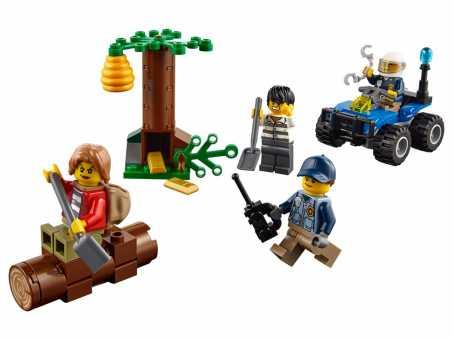 Конструктор LEGO City 60171 Убежище в горах