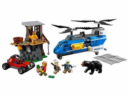 Конструктор LEGO City 60173 Горная полиция: Арест