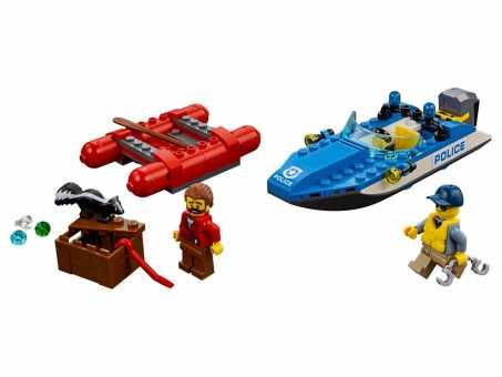 Конструктор LEGO City 60176 Бегство по горной реке