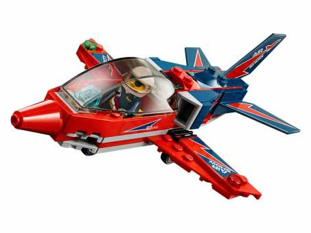 Конструктор LEGO City 60177 Реактивный самолет