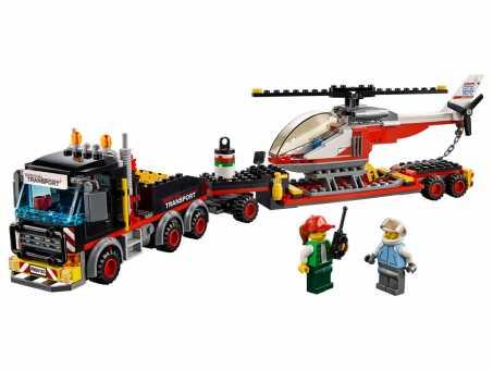 Конструктор LEGO City 60183 Тяжёлый грузовой транспорт