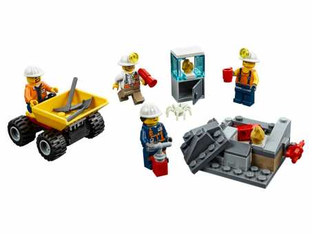Конструктор LEGO City 60184 Бригада шахтеров