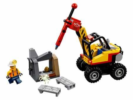 Конструктор LEGO City 60185 Трактор для горных работ