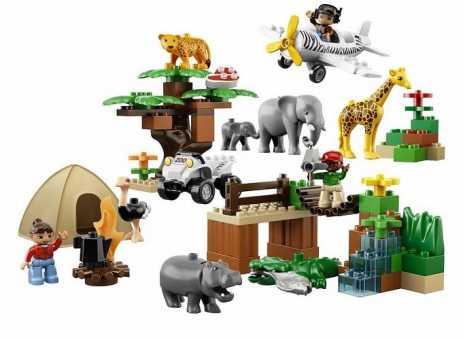 Конструктор LEGO Duplo 6156 Фотосафари