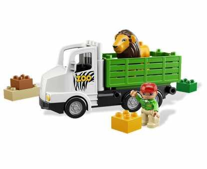 Конструктор LEGO Duplo 6172 Зоо-грузовик