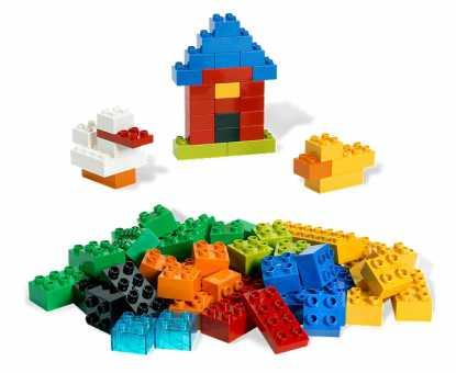 Конструктор LEGO Duplo 6176 Основные элементы – Deluxe