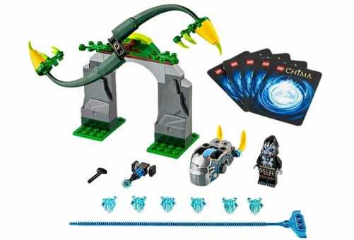 Конструктор LEGO Legends of Chima 70109 Вихревые стебли