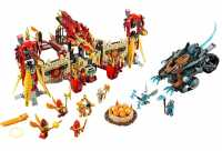Конструктор LEGO Legends of Chima 70146 Огненный летающий Храм Фениксов
