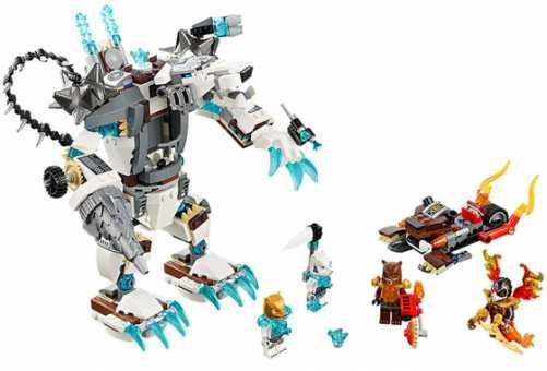 Конструктор LEGO Legends of Chima 70223 Ледяной бур Айсбайта