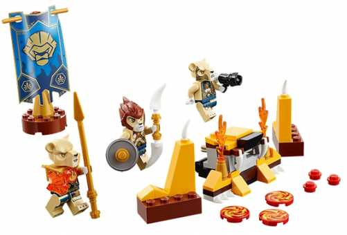 Конструктор LEGO Legends of Chima 70229 Лагерь клана Львов